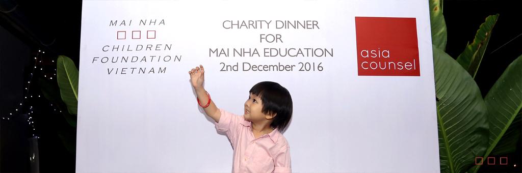 ASIA COUNSEL organizes a fundraiser for MAI NHA
