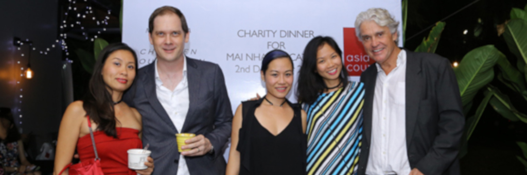 ASIA COUNSEL organizes a fundraiser for MAI NHA